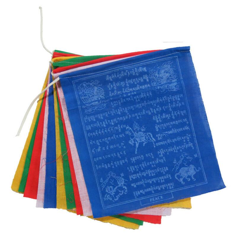 bandera de oracion tibetana