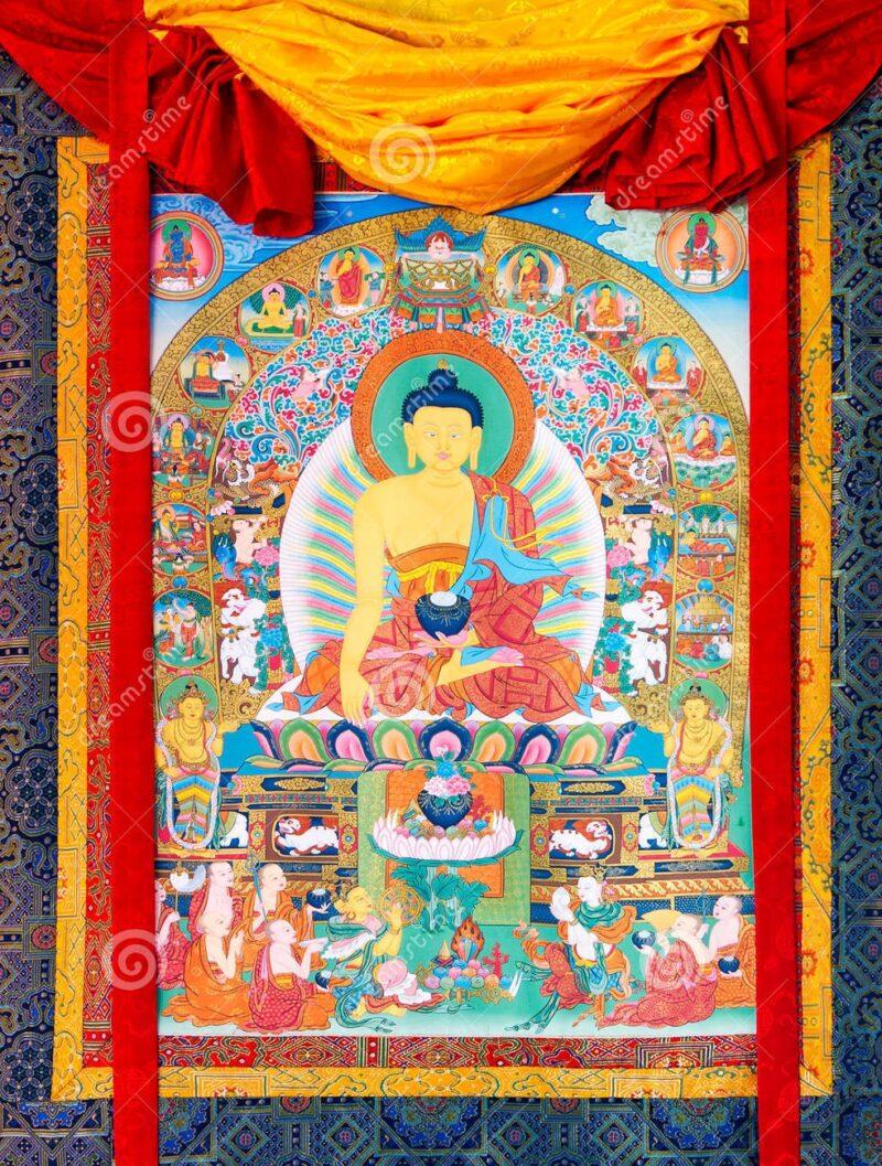 thangka tibetano